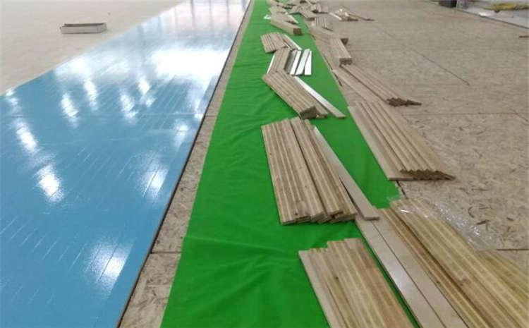 选择篮球馆实木运动地板技巧