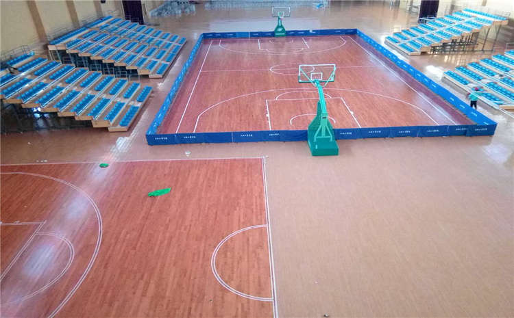 欧氏实木运动地板专业安装施工团队