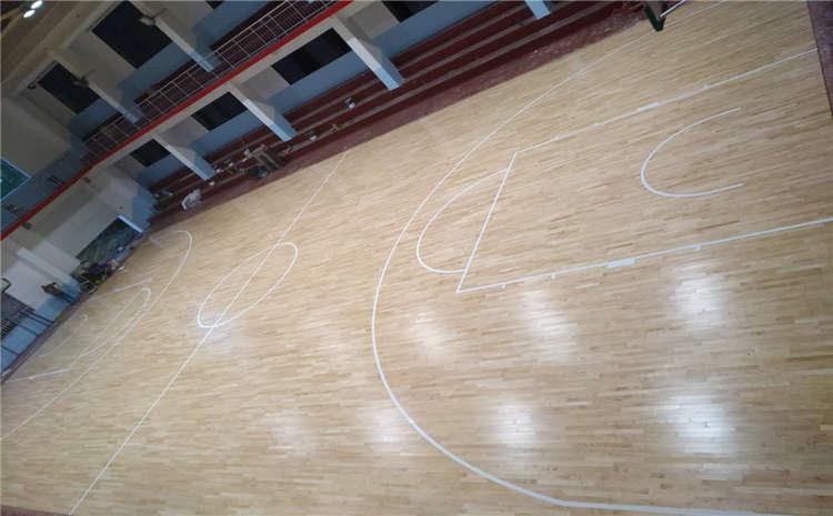 舞台木地板安装细节