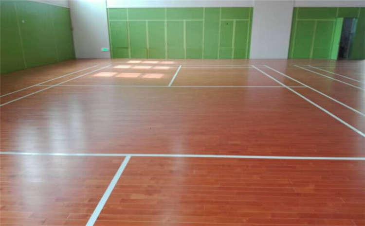 室内实木运动地板施工工艺