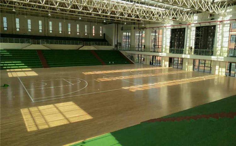 赛事场馆篮球馆木地板施工方案