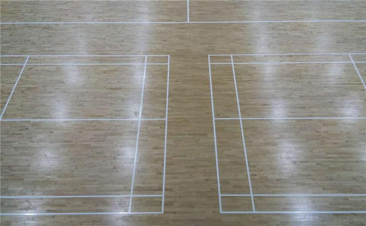 篮球馆木地板和家用木地板一样吗?