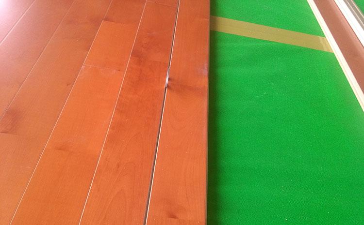 体育馆木地板安装