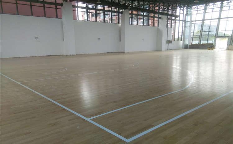 篮球场木地板安装条件是什么?