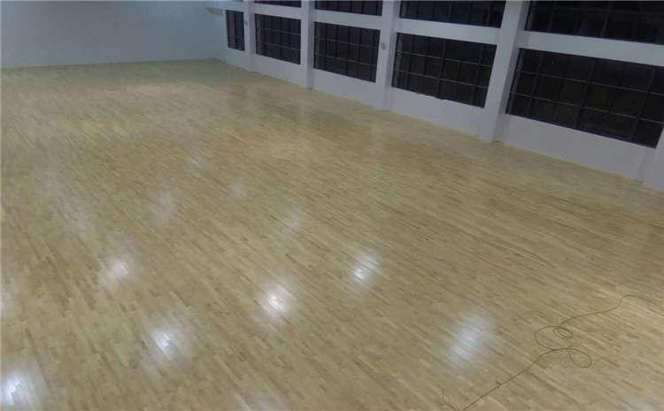 篮球馆木地板能翻新吗?