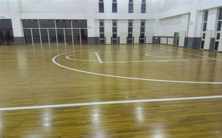专用体育场木地板施工技术