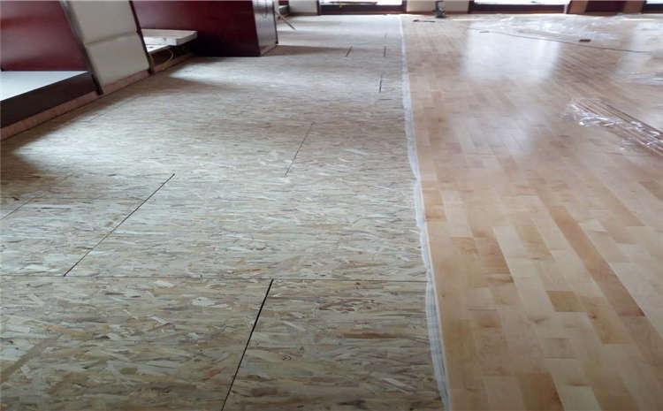 体育馆实木运动地板含水率