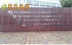 安徽省怀宁县羽毛球馆木地板