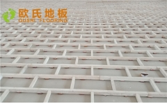 北京房山娄子水小学篮球馆木地板案例