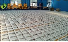 北京顺义供电局篮球馆木地板项目