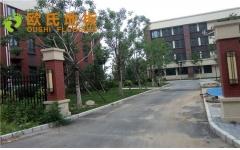 北京顺义区天顺小学篮球馆木地板图片